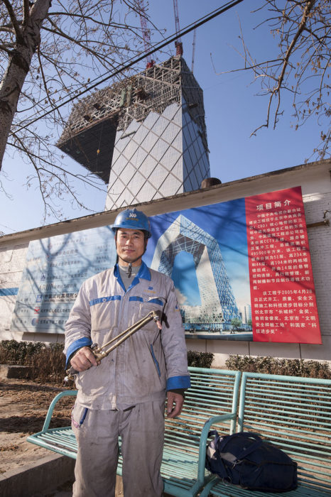 chinese construction worker